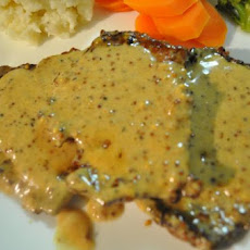 Veal in Mustard Cream Sauce