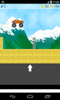 Screenshot of truck climbing games