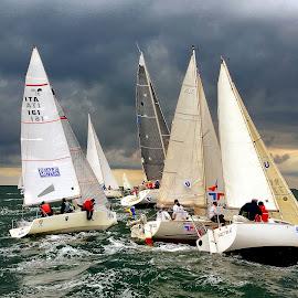 BMW Regata  by Bogdan Dumitru - Sports & Fitness Watersports ( sea, regata, boat )