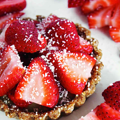 Strawberries 'n' Cream Tartlets