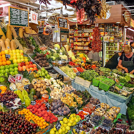 La Boqueria, Barcelona by Steve Griffiths - City,  Street & Park  Markets & Shops ( fruit, market, food, vegetables, barcelona, , colorful, mood factory, vibrant, happiness, January, moods, emotions, inspiration )
