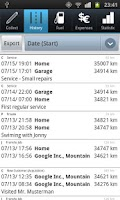 Screenshot of Driver's Log PRO (myLogbook)