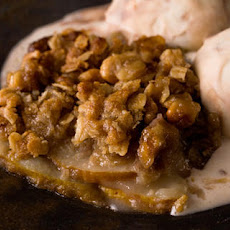 Gingered Pear Crisp Recipe