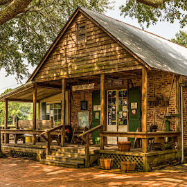by Sheldon Anderson - Buildings & Architecture Public & Historical ( cajun, life, louisiana, rural life, general store, historical, country life, acadian village, homes, antique )
