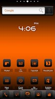 Screenshot of ADW Theme DigitalSoul Orange