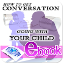 Talking with your child icon