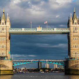 Tower Bridge by Trevor Fairbank - Buildings & Architecture Bridges & Suspended Structures ( england, london, tower bridge, architecture, bridge )