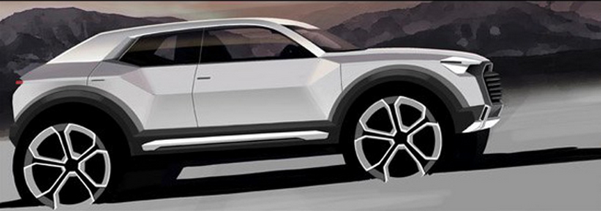 Meet The Audi Q1 - Audi's 4th SUV (PHOTOS)