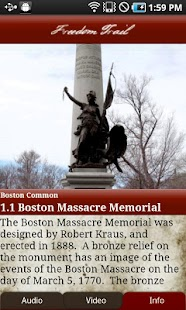 Tour Boston's Freedom Trail - screenshot