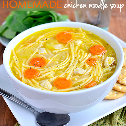 Homemade Chicken Noodle Soup (Gluten-Free Friendly!)