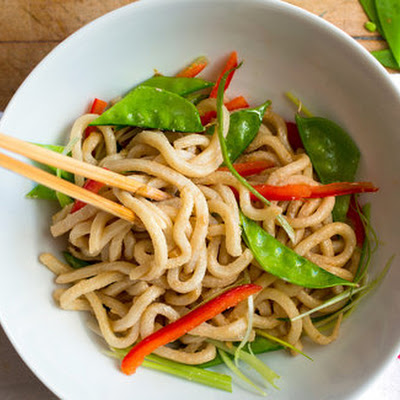 Cold Sesame Noodles With Crunchy Vegetables