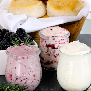 Homemade Flavored Whipped Butters