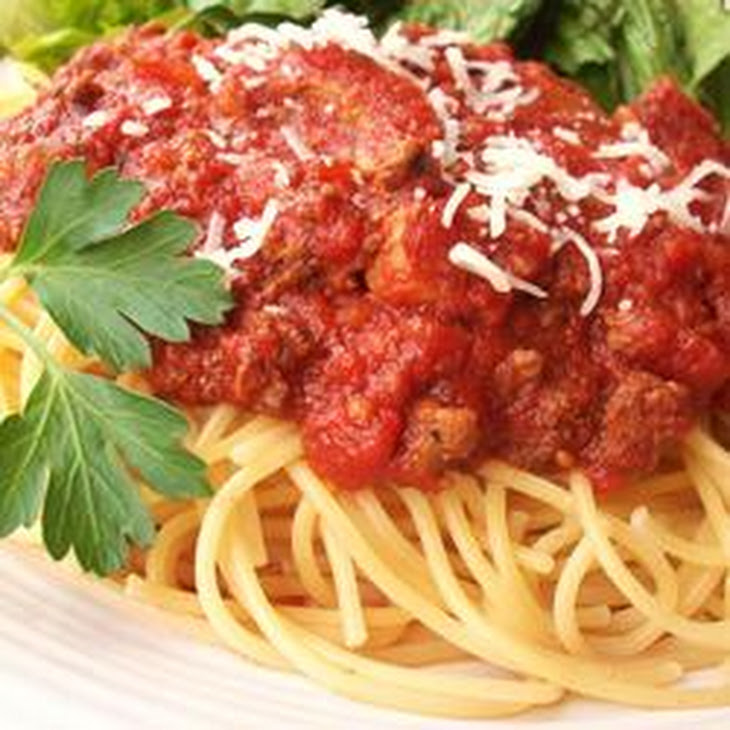 Meat-Lover's Slow Cooker Spaghetti Sauce Recipe | Yummly