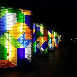 by Johny Laoad - Instagram & Mobile Android ( lights wall )