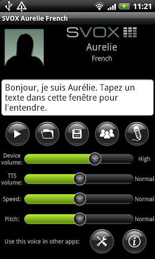 SVOX French Aurelie Voice