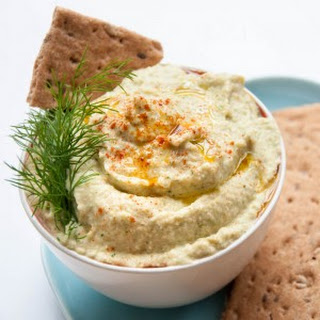 Cucumber Hummus with Dill