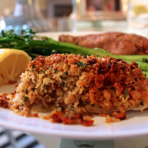 New England Baked Cod with Ritz Cracker Crumbs