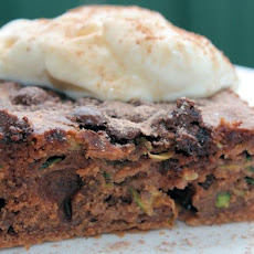 Won't Kill the Diet Chocolate Cinnamon Zucchini Cake