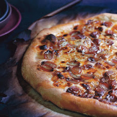 Gorgonzola and Grape Pizza