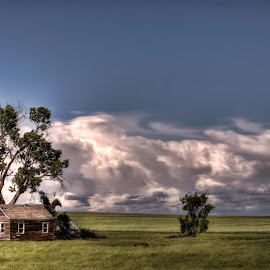 South Dakota Sky by Michele Richter - Buildings & Architecture Decaying & Abandoned ( hdr, abandoned )