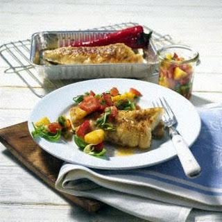 Seelachsfilet mit Chili-Curry-Paste