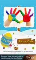 Screenshot of Pick n Color Seasons