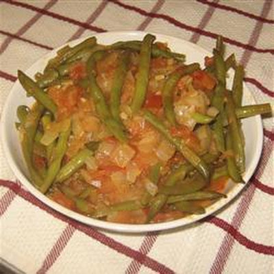 Greek Runner Beans