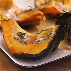 Roasted Winter Squash w/ Brown Butter & Sage