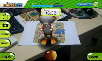 Screenshot of Planet MonstAR