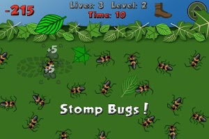 Screenshot of Bye Bugs Lite