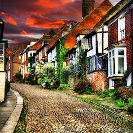 Ye Olde Brae by Don Alexander Lumsden - City,  Street & Park  Street Scenes