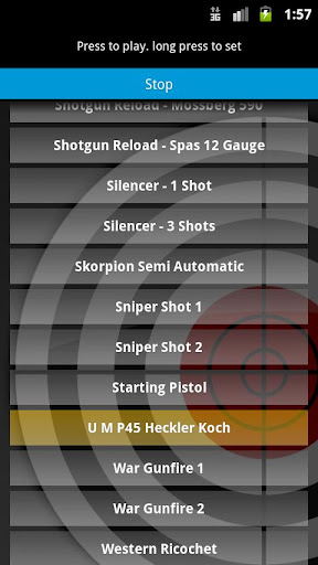 玩娛樂App|Gunshot Sounds FX Ringtones免費|APP試玩