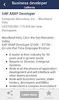 Screenshot of Jobs - Job Search - Careers