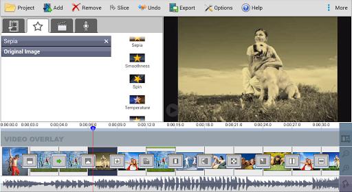 VideoPad Masters Edition - screenshot