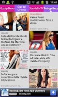 Screenshot of News di gossip italiano