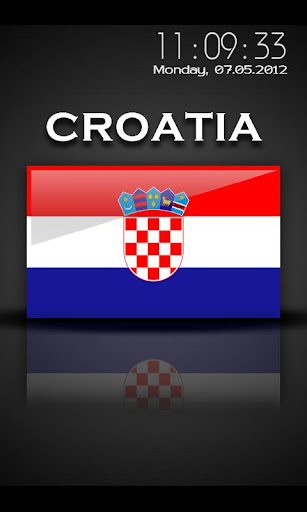 Croatia - Flag Screensaver