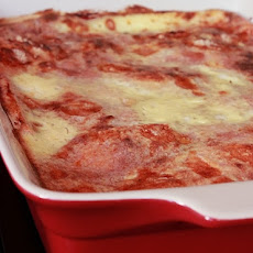 Sliced Bread Lasagna
