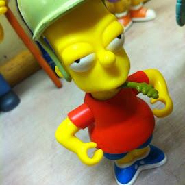Bart by Jenifer Gutke - Artistic Objects Toys ( silly, simpson, toy, toys, bart, fun,  )