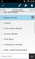 Screenshot of Simple Tasks & Notes
