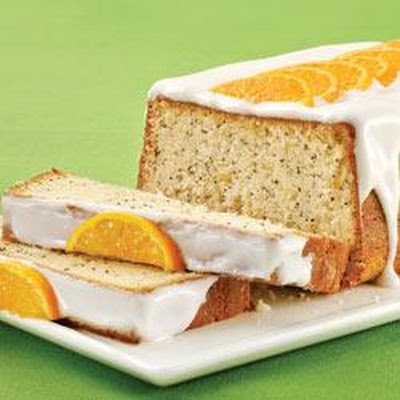 Fresh Orange-Poppy Seed Cake
