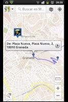 Screenshot of Al Andalus Routes