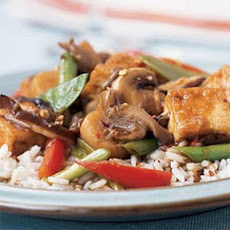 Triple-Mushroom Stir-Fry with Tofu