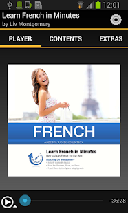 Learn French In Minutes - screenshot