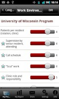 Screenshot of Residency Rater - Pediatrics