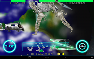 Screenshot of Weird Dog Space Demo