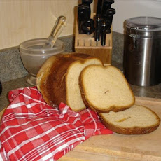 Sweet Honey White Bread-bread Machine