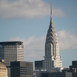 Chrysler Building by Alec Halstead - City,  Street & Park  Skylines
