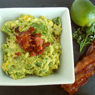 Roasted Corn & Bacon Guacamole