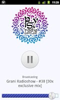 Screenshot of PsyRadio