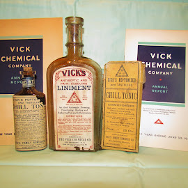 Vick's Brands by Christine Keaton - Artistic Objects Antiques